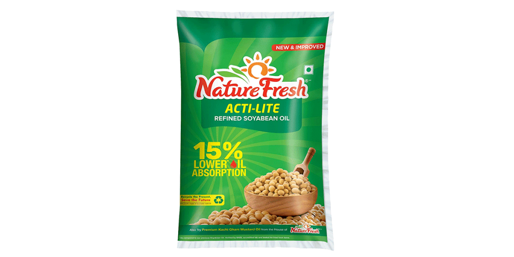 Nature Fresh Soyabean Oil – 1L Pouch