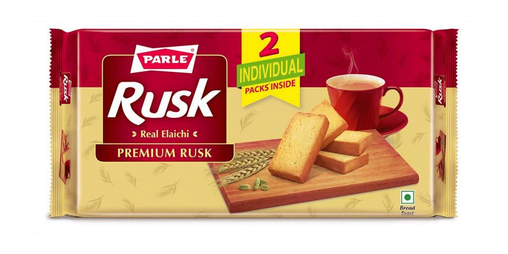 Parle Rusk Elaichi Flavour