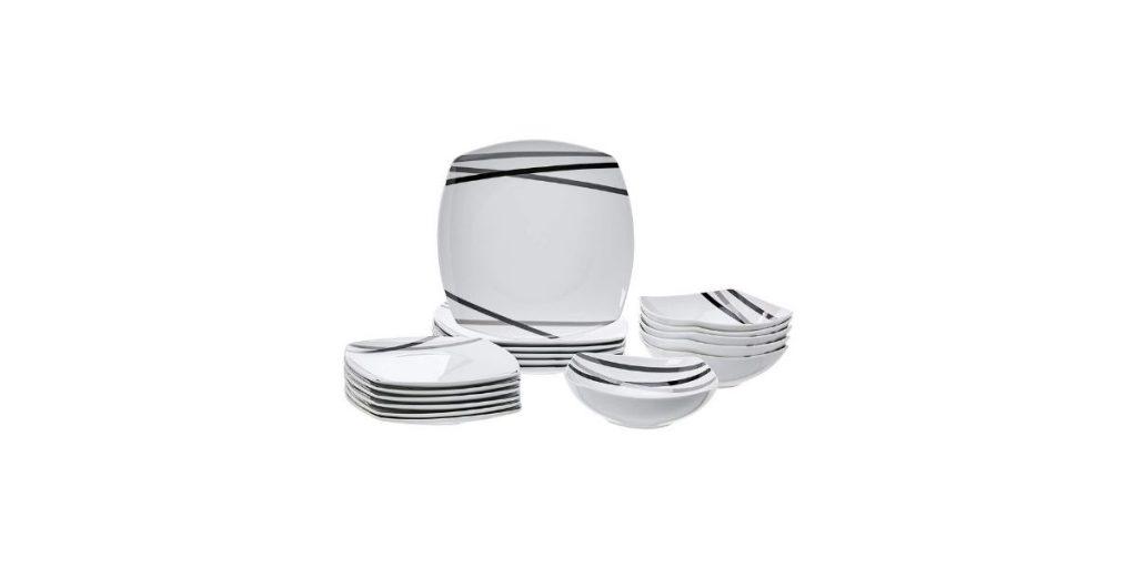 AmazonBasics Best Dinner Sets
