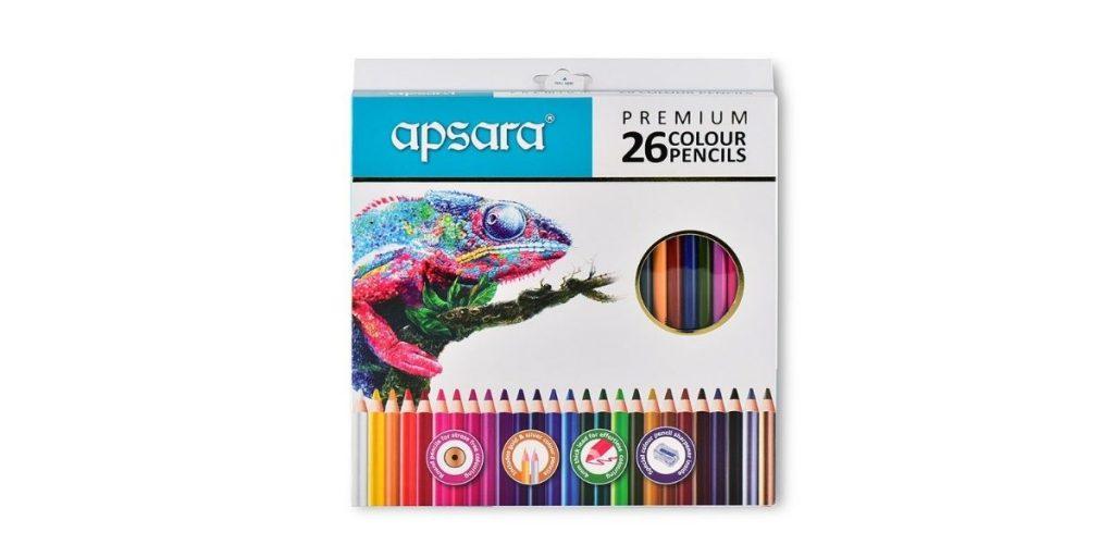 Apsara Pencil Colors