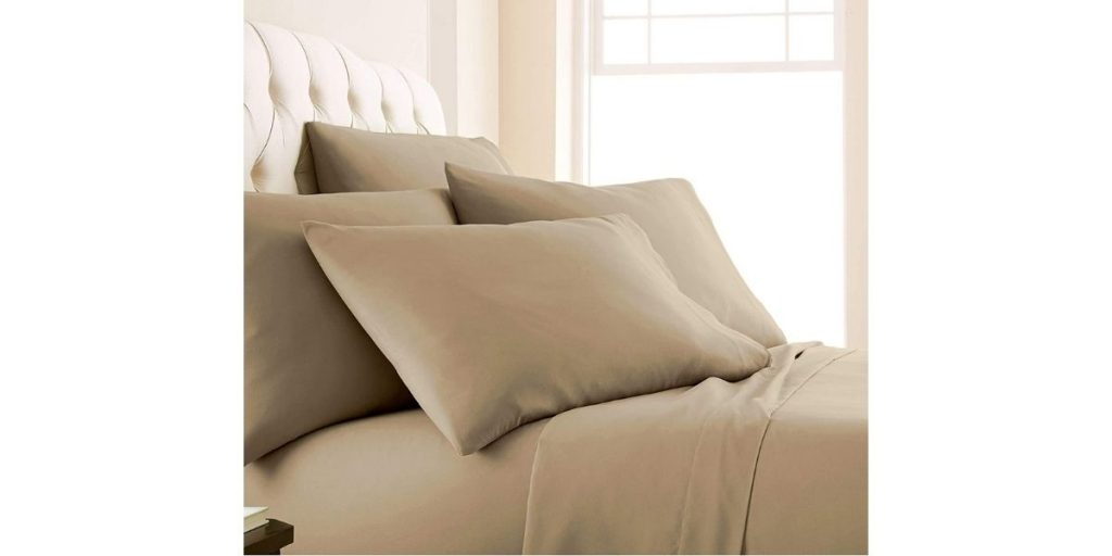 Solid King Size Bedsheets