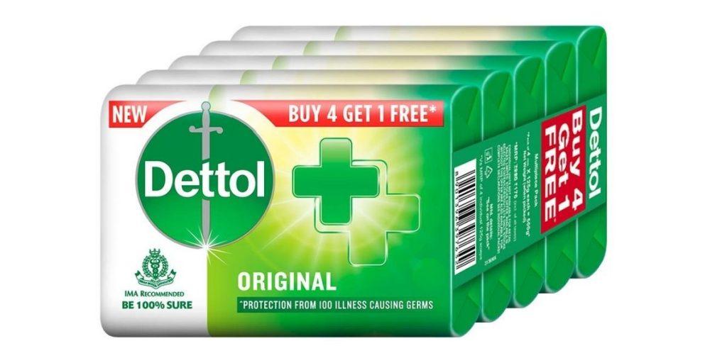 Dettol Original Germ Protection Bathing Soap Bar