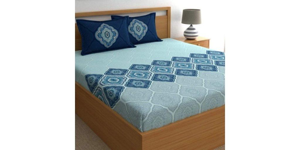 Dreamscape Cotton Bed Sheet
