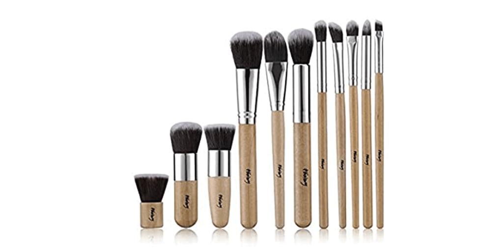 Foolzy 11Pcs Makeup Brush Set