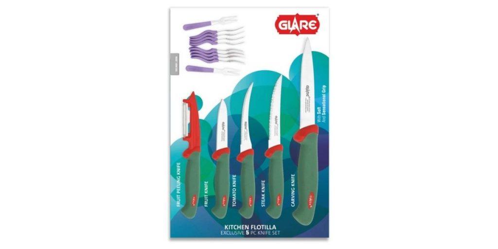 Glare Kitchen Flotilla Knife Set