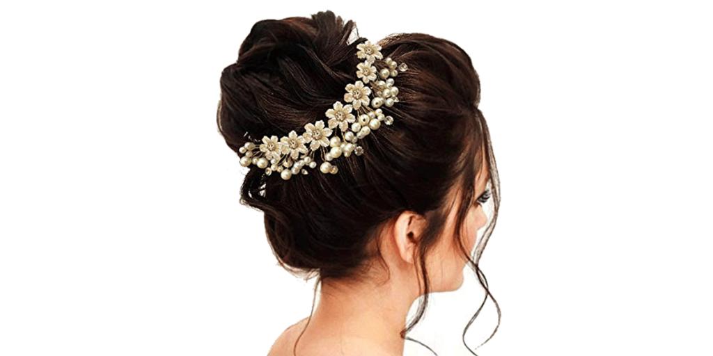 Hair Flare Artificial Flowers Hair Pins