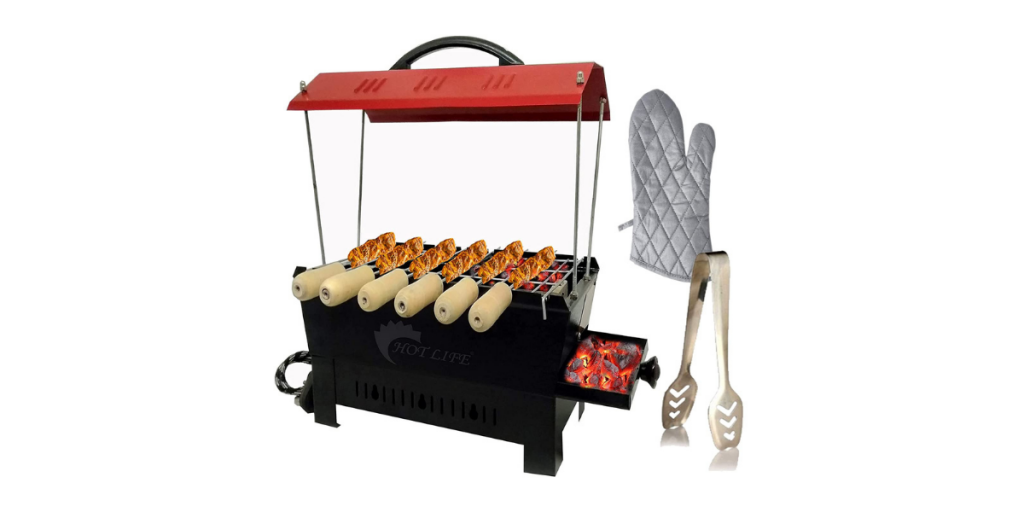 HotLife Camping Barbecue Grill and Electric Tandoor