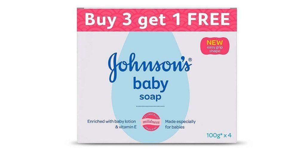 Johnson's Baby Soap For Bath