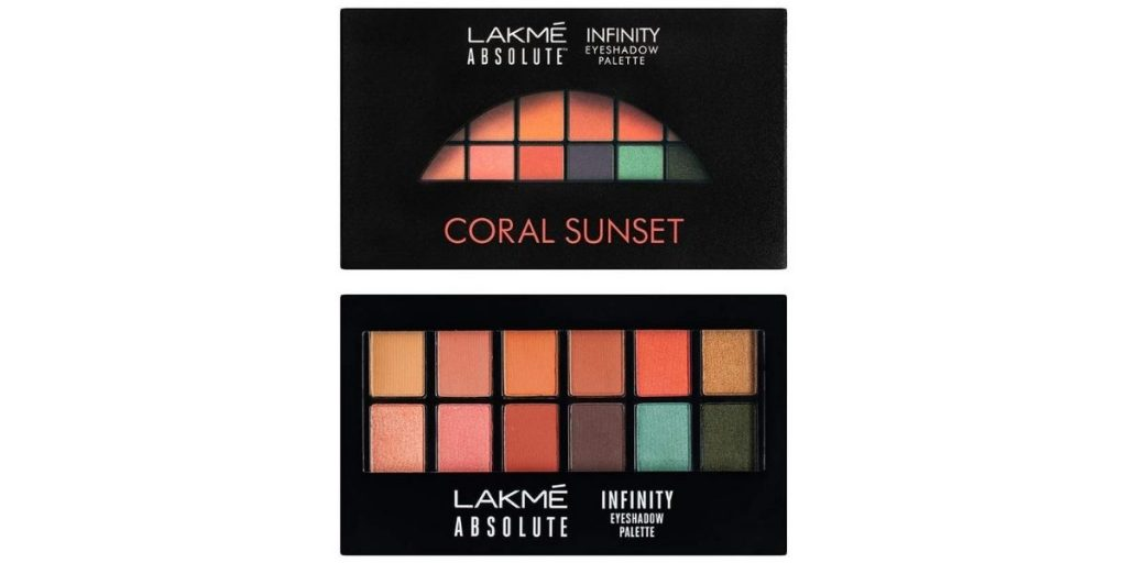 Lakme Absolute Infinity Eye Shadow Palette