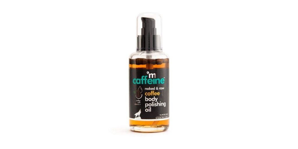 mCaffeine Naked & Raw Coffee Body Oil