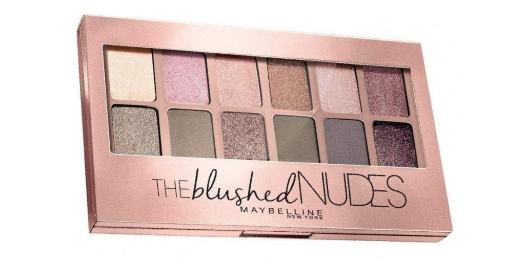 Maybelline New York Blushed Nudes Eye Shadow Palette