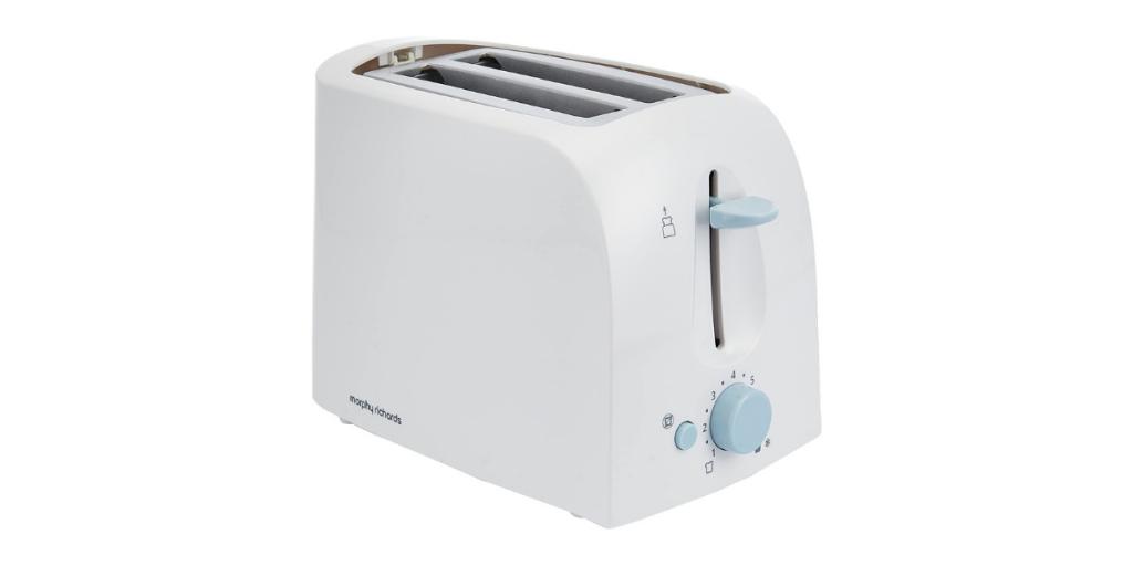 Morphy Richards AT-201 2-Slice 650-Watt Pop-Up Toaster