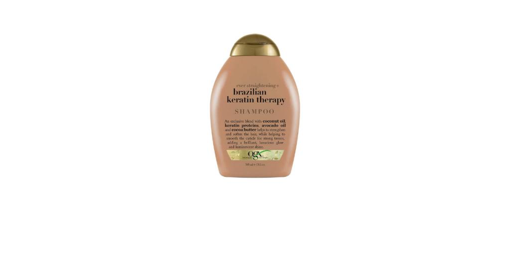 OGX keratin shampoo