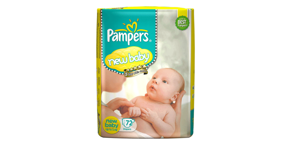 Pampers Newborn Baby Diapers