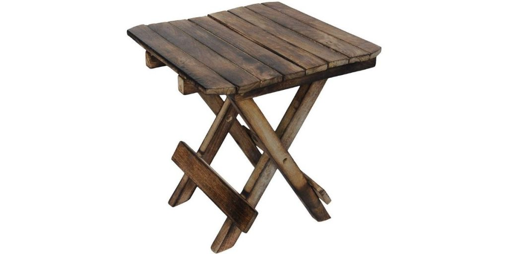 Ereteken ART Wooden Side Table