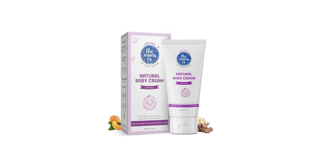 The Moms Co. Natural Baby Cream for Face
