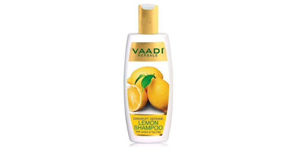 Vaadi Herbals Lemon Herbal Shampoo for Dandruff