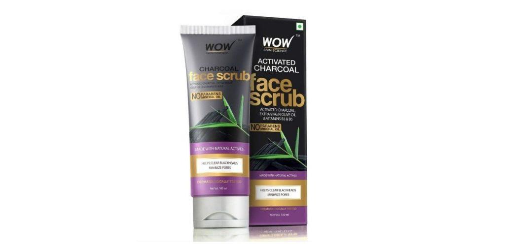 WOW Charcoal Face Scrub