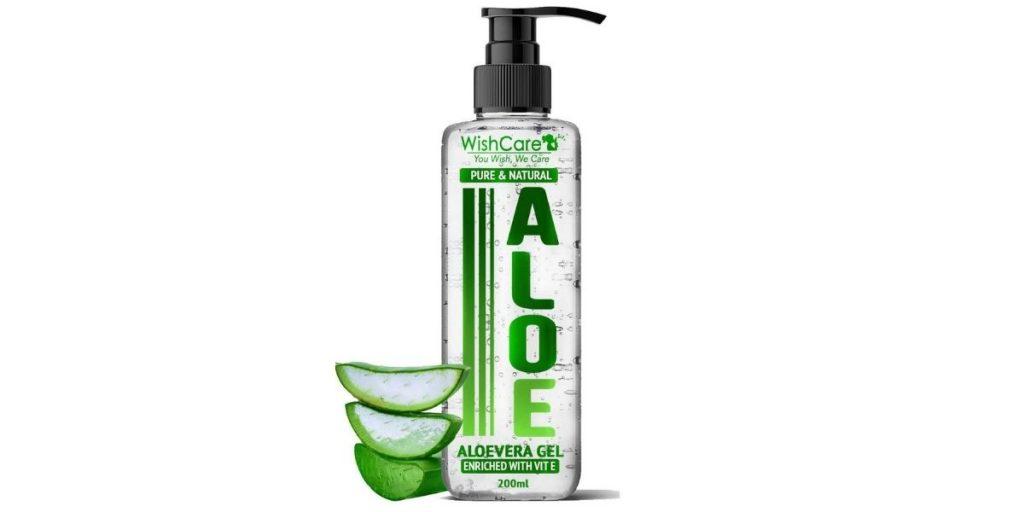 Wish Care Pure and Natural Aloe Vera Gel