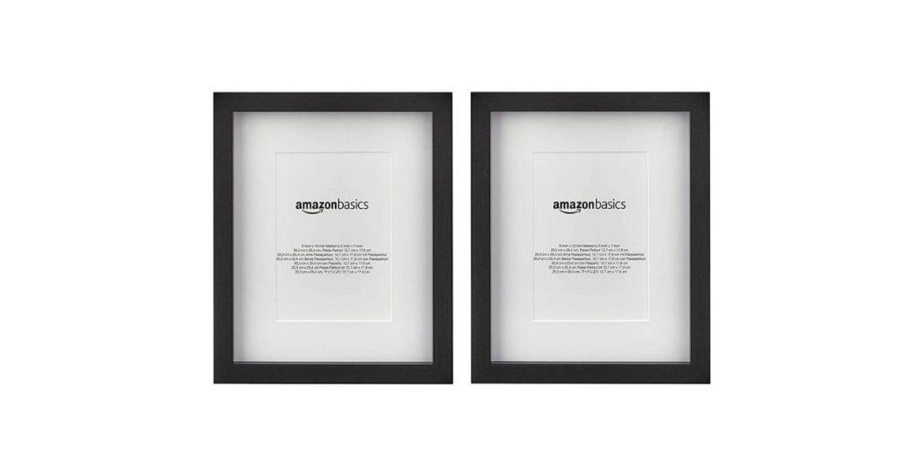 AmazonBasics Matted Photo Frame