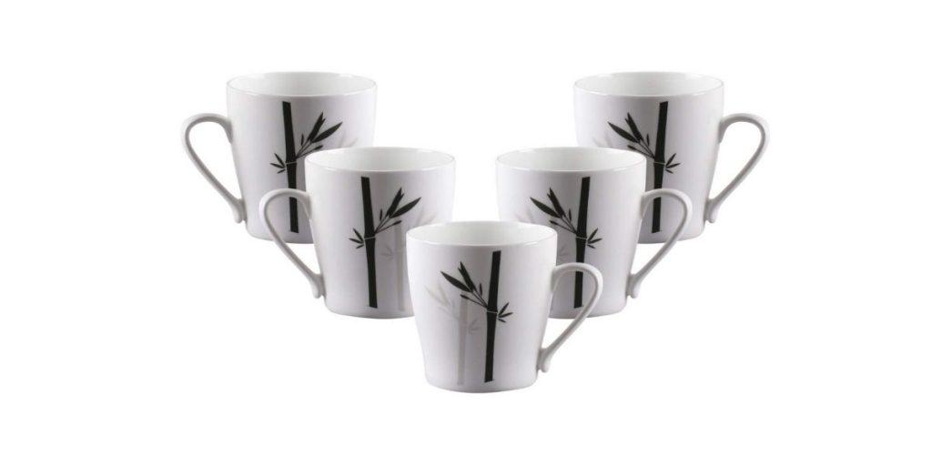 Clay Craft Master MW Bone China Coffee Mug Set