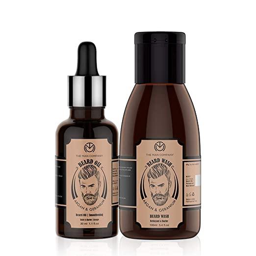 The Man Co Beard Oil - Agran and Geranium oil