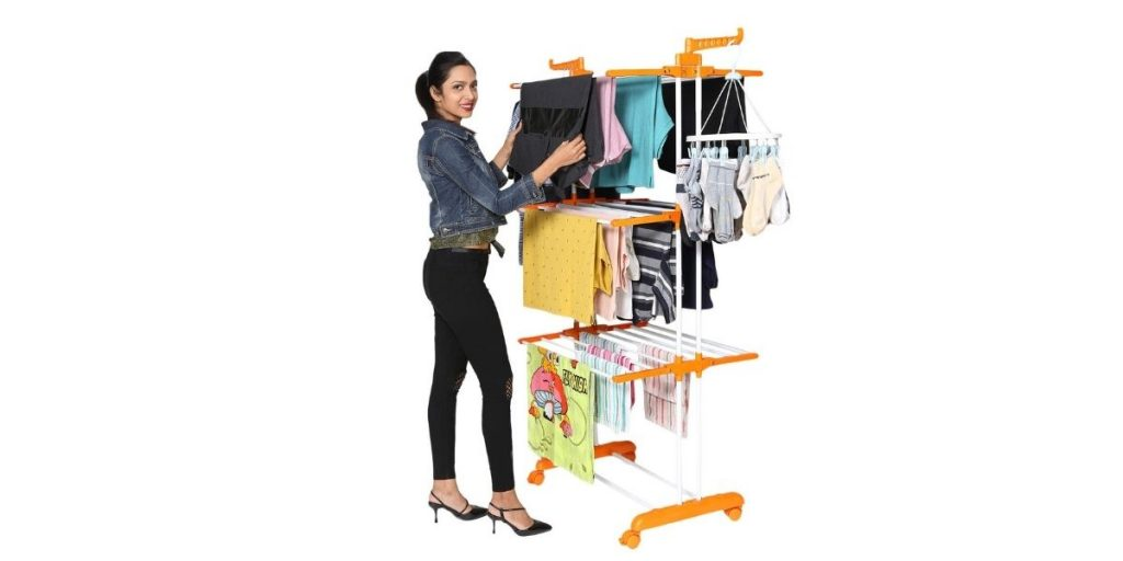 Happer Cloth Drying Stand