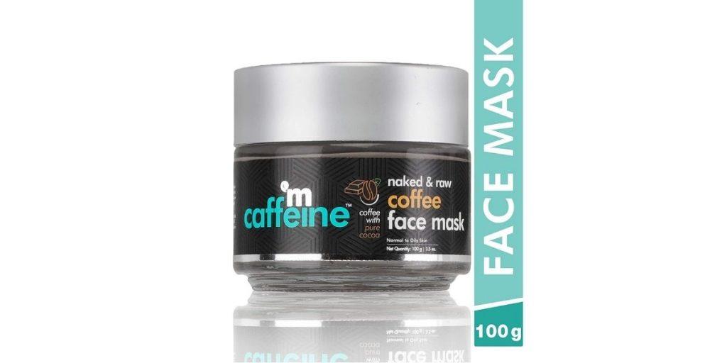 mCaffeine Naked & Raw Face Mask