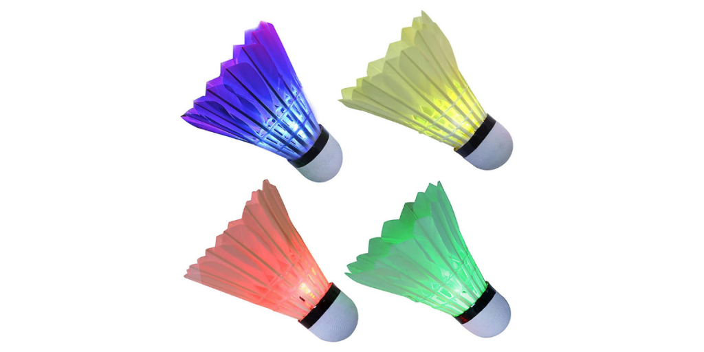 Arespark LED Shuttlecocks - Pack of 4