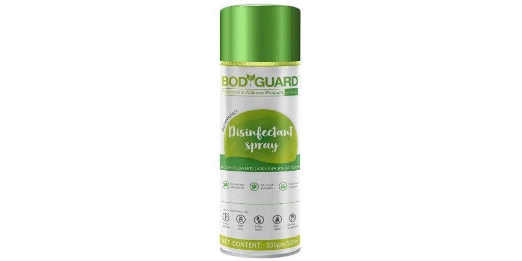 Bodyguard Multipurpose Disinfectant Sanitiser Spray