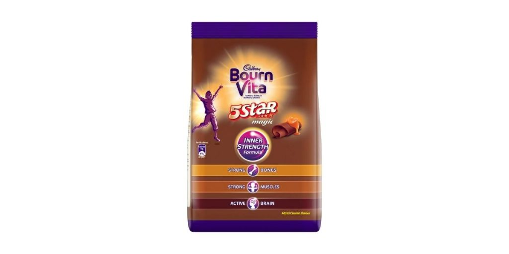 Bournvita Cadbury 5-Star Magic Health Drink