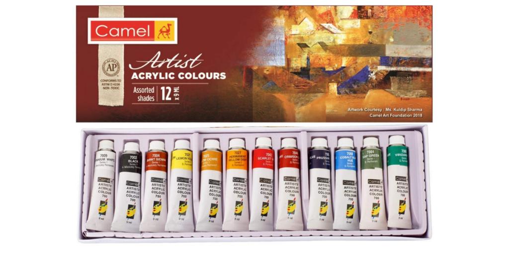 Camel Kokuyo Acrylic Paints