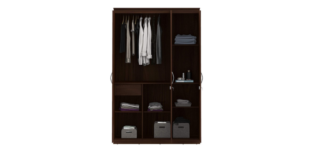 Amazon Brand - Solimo 3-Door Wardrobe