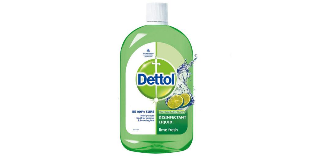 Dettol Fresh Lime Liquid Disinfectant for Home