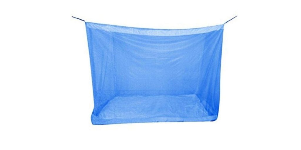 Divayanshi Polycotton Mosquito Net for Bed