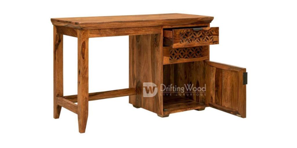 Drifting Wood Sheesham Writing Study Table