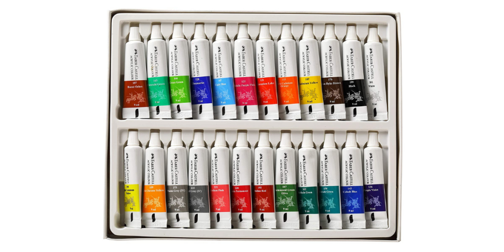 Faber Castell Student Acrylic Paints