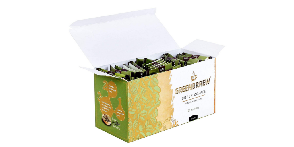 Greenbrrew Instant Best Green Coffee for Weight Loss
