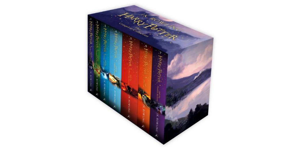 Harry Potter Book Set by J K Rowling