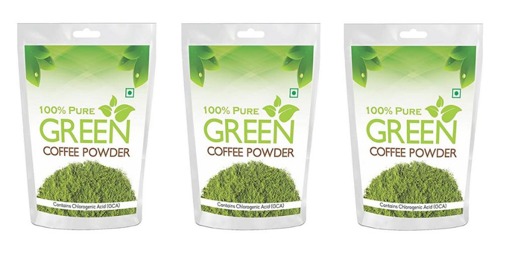 Health First Pure Green Coffee Beans Powder