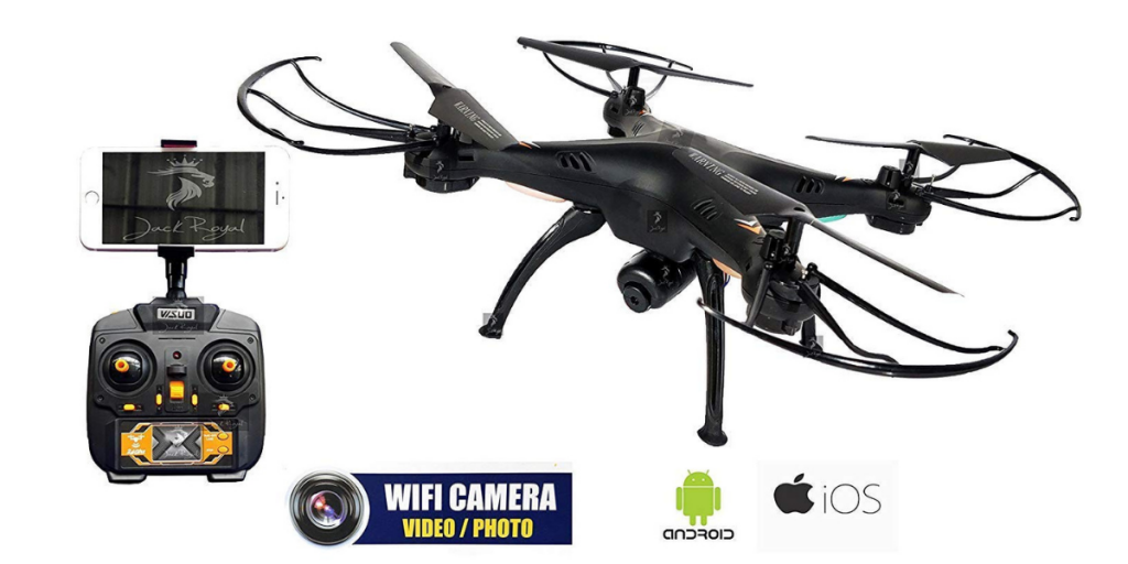 Jack Royal Drone with Camera