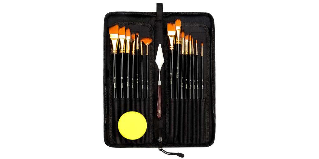 Kurtzy Artist Paintbrush Set