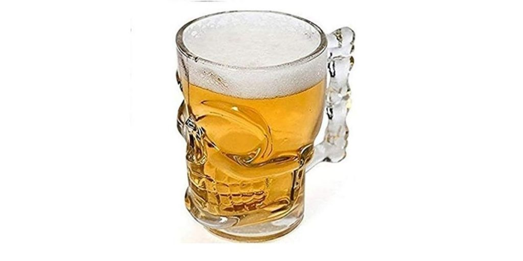 MIR9 Skull Beer Mug