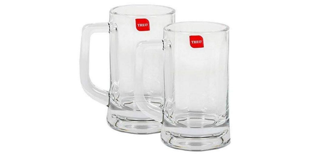 Milton Glass Beer Mug