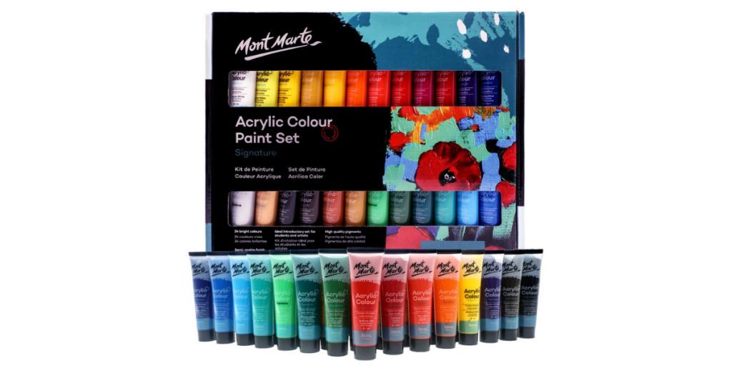 Mont Marte Acrylic Paint Set