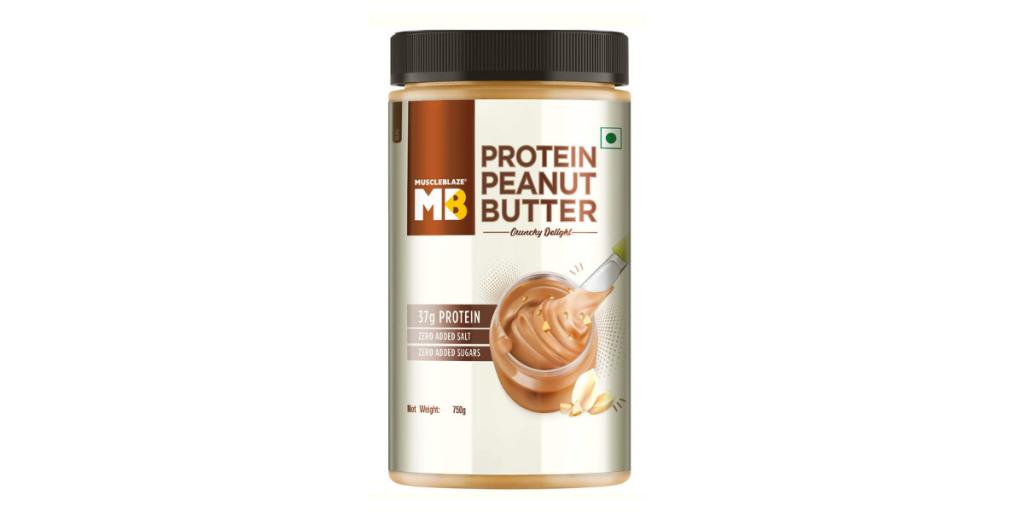 Muscle Blaze High Protein Natural Peanut Butter
