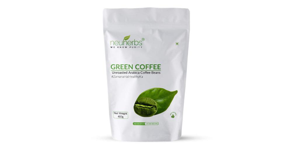 Neuherbs Best Green Coffee Beans for Immunity