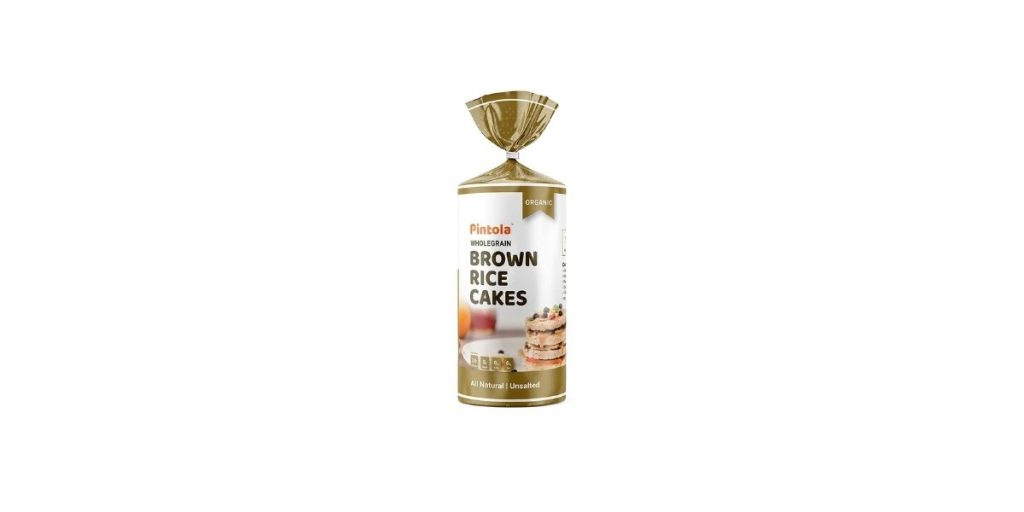 Pintola Organic Wholegrain Brown Rice Cakes