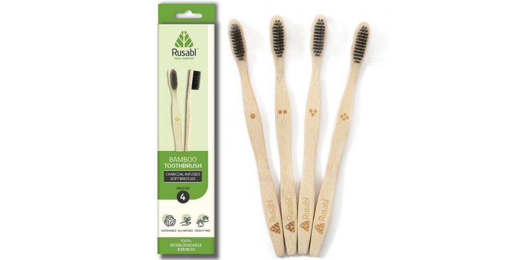 Rusabl Bamboo Toothbrush