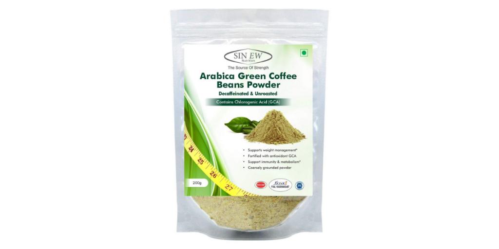 Sinew Green Coffee Beans Powder